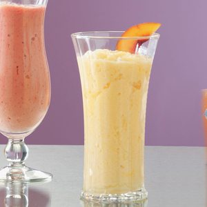 Peach Citrus Smoothies