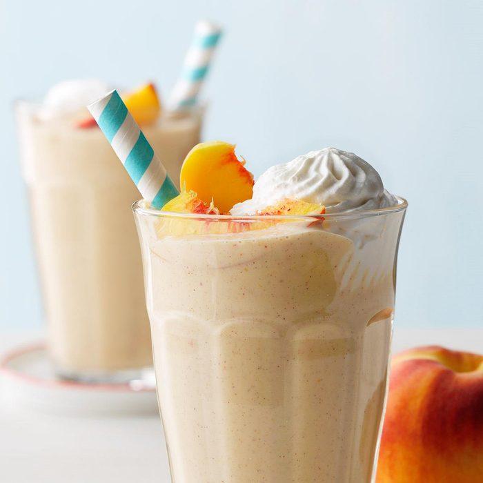 Peachy Buttermilk Shakes