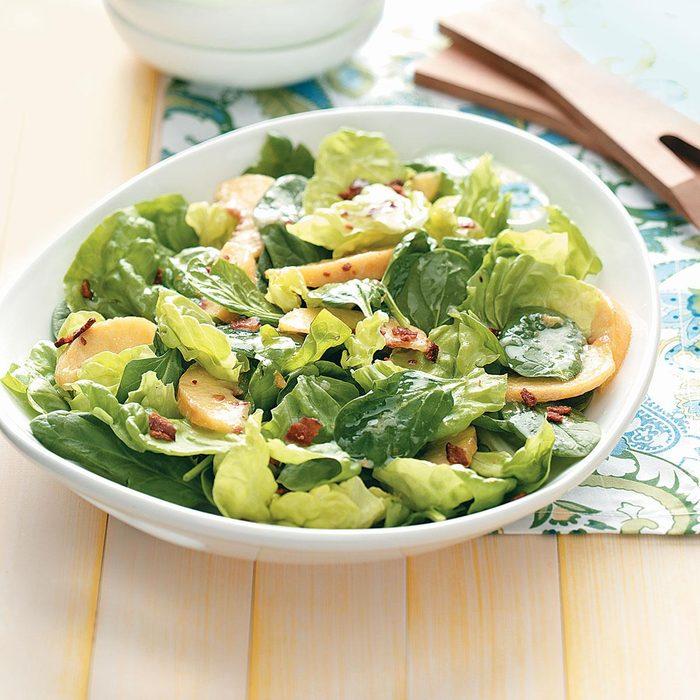 Peachy Tossed Salad