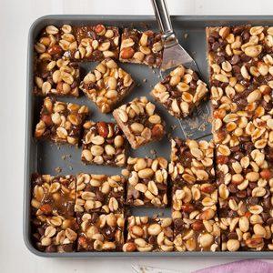 Peanut Brittle Bars