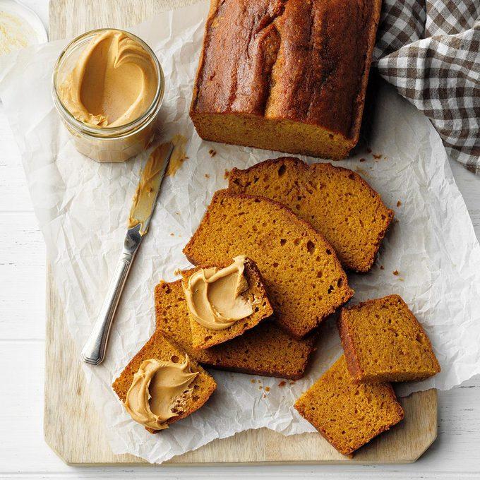 Peanut Butter Pumpkin Bread