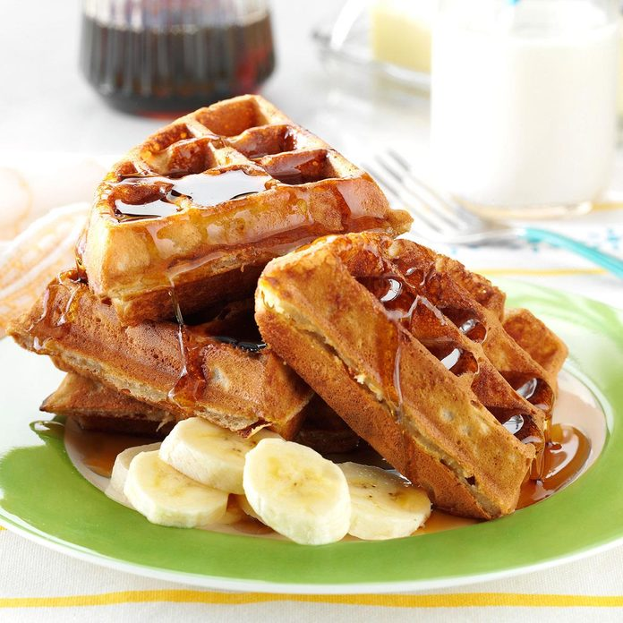 Inspired By: Peanut Butter Waffles