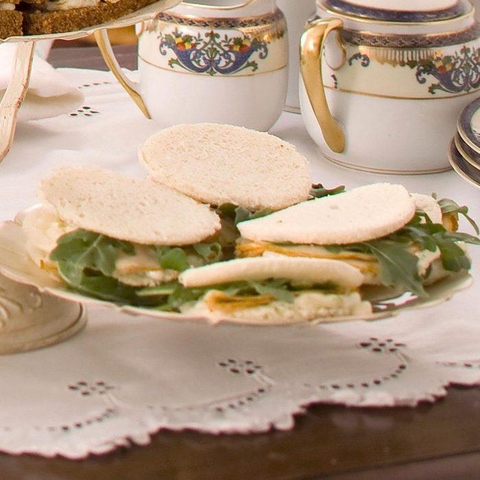 Pear-Walnut Tea Sandwiches