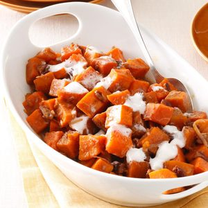 Pecan-Coconut Sweet Potatoes