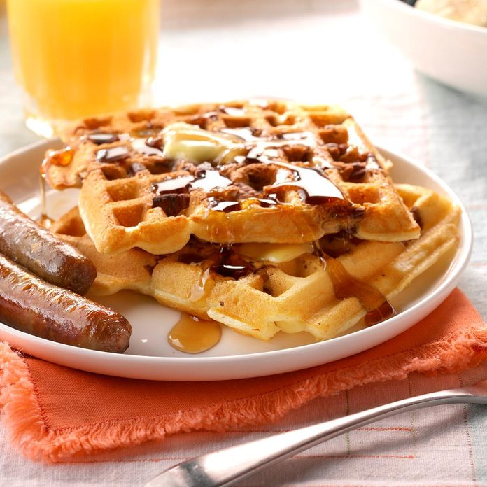 Inspired by: Waffle House's Pecan Waffles