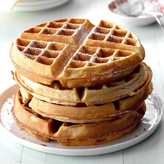 Inspired By: Pecan Waffle