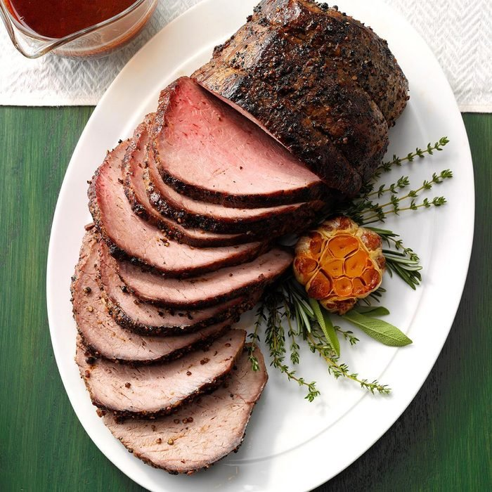 Peppercorn Beef Top Loin Roast