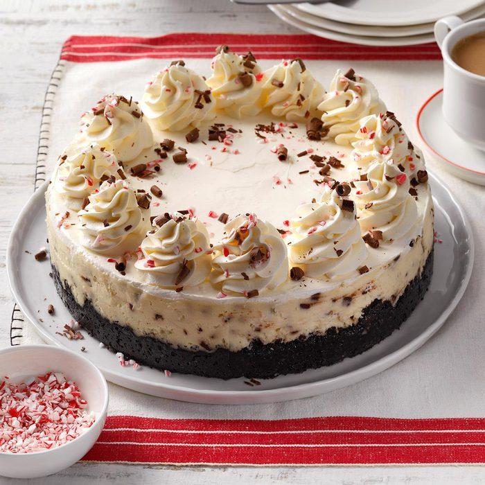 Peppermint Cheesecake