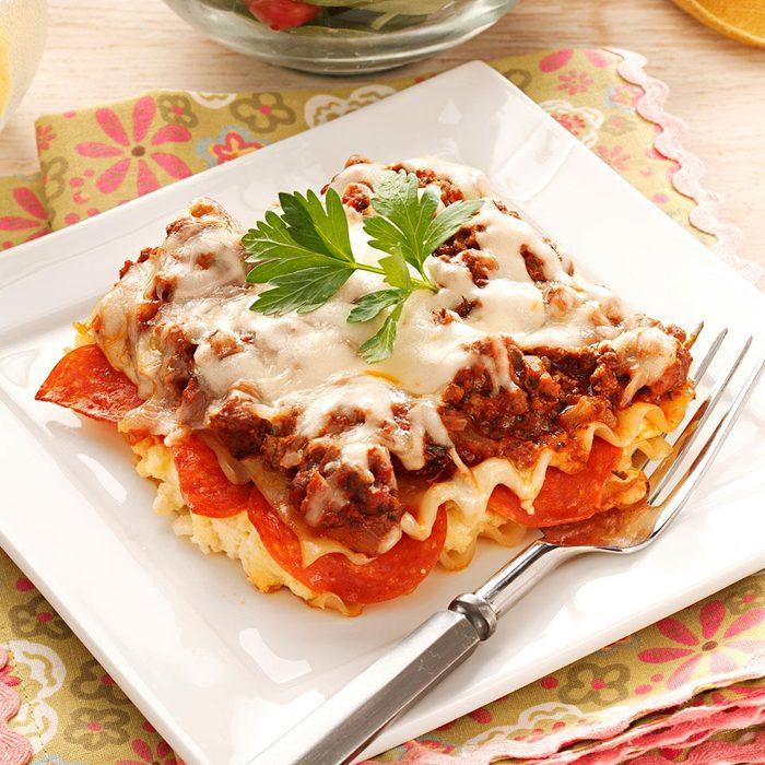 Pepperoni Lasagna