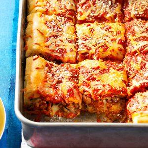 Pepperoni-Sausage Stuffed Pizza