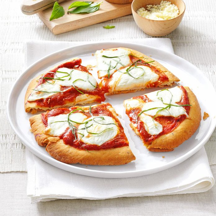 November: Personal Margherita Pizzas