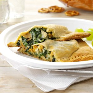 Pesto Chicken Turnovers