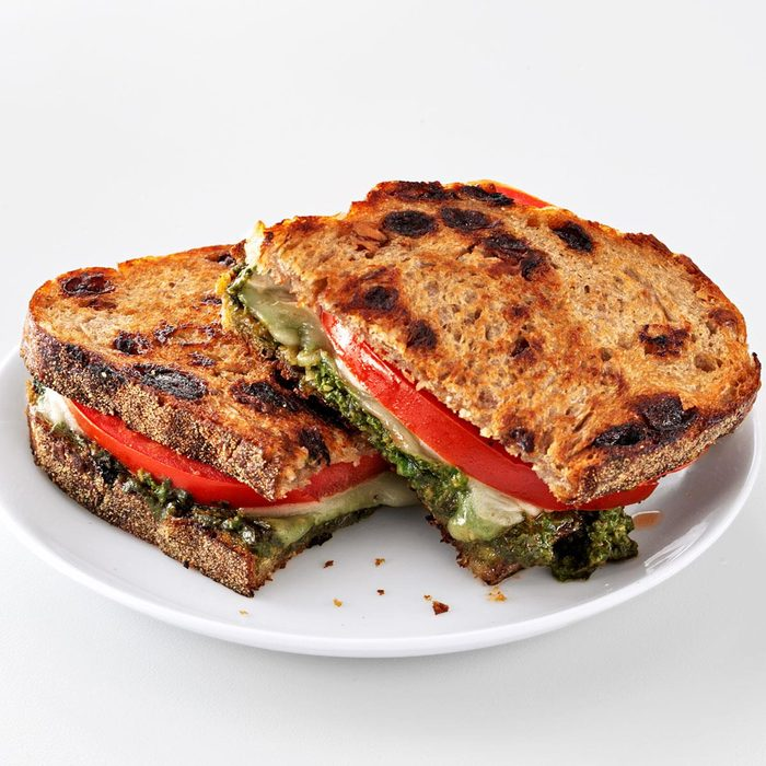 Pesto Grilled Cheese Sandwiches