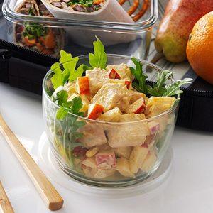 Pineapple-Apple Chicken Salad