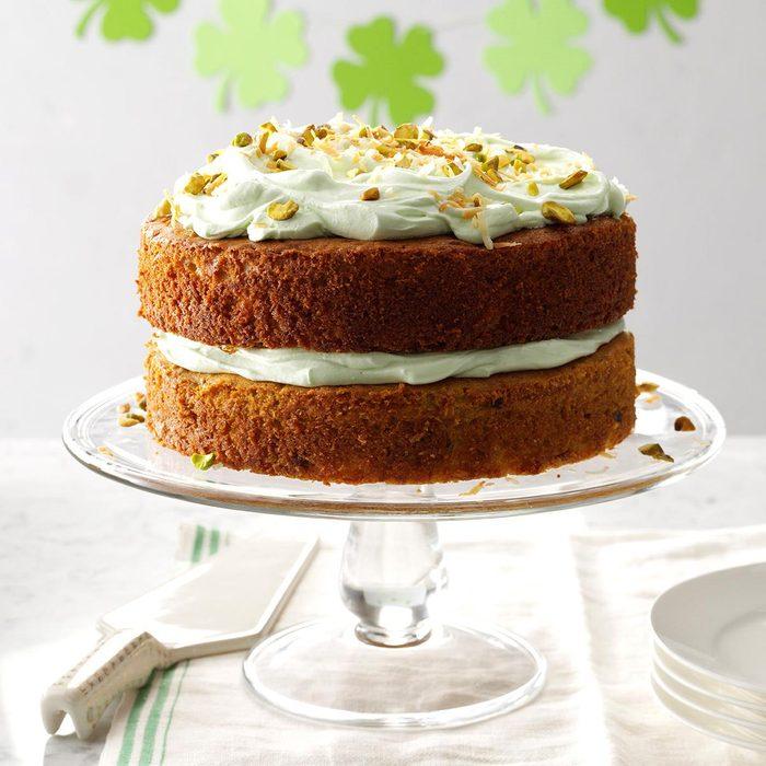 Pistachio and Coconut Cake