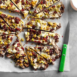 Pistachio Cranberry Bark