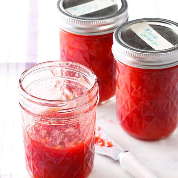 Plum Orange Jam