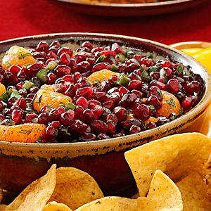 Pomegranate Orange Salsa