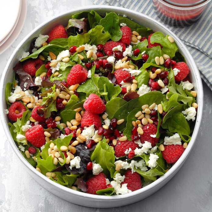 Pomegranate Splash Spinach Salad