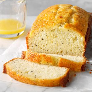 Poppy Seed Bread with Orange Glaze