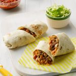 Pork, Bean & Rice Burritos