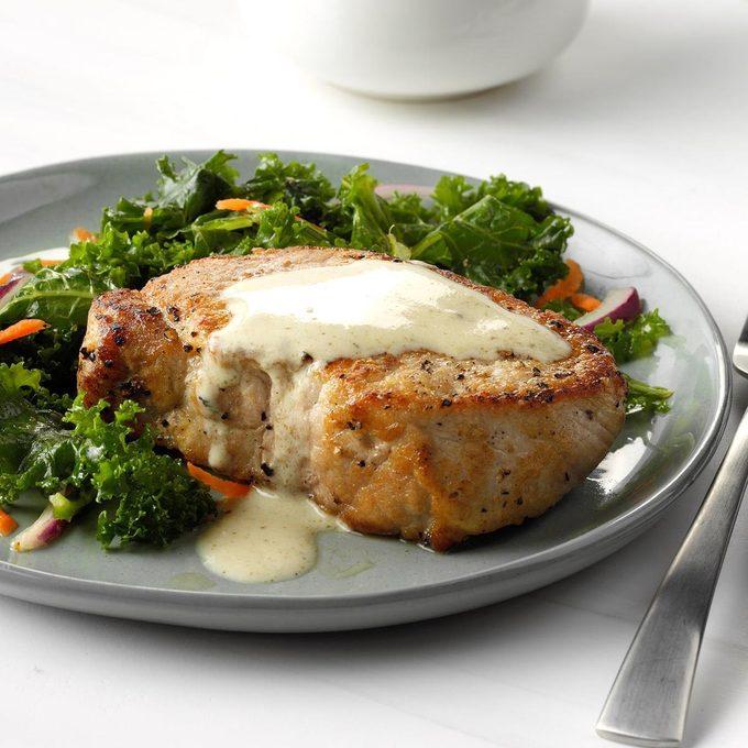 Pork Chops With Dijon Sauce Exps Sdon18 31894 C06 15 5b