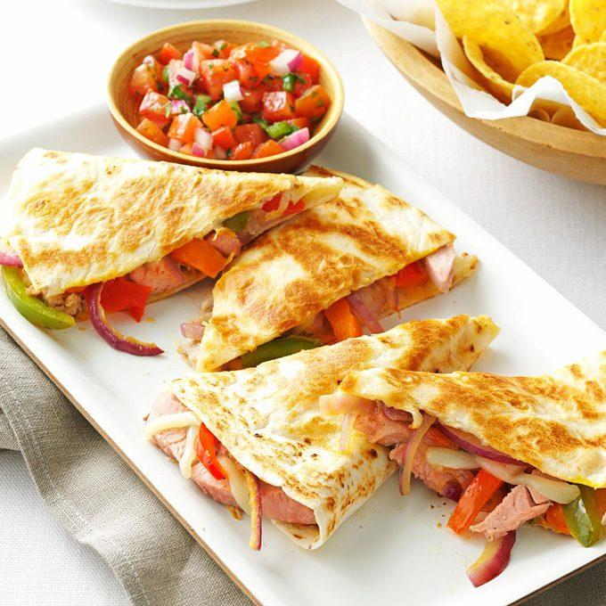 Pork Quesadillas With Fresh Salsa Exps167532 Sd2847494d02 07 4bc Rms 3