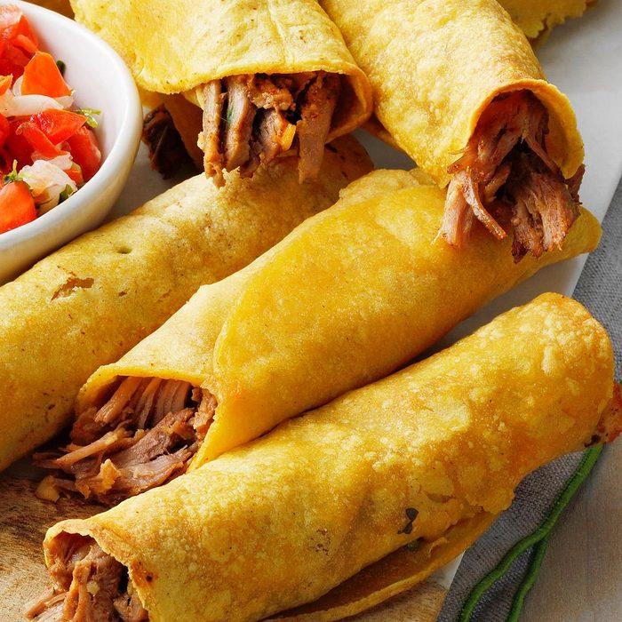 Pork Taquitos