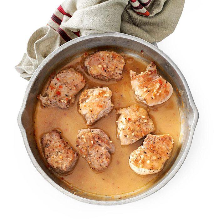 Pork Tenderloin with Zesty Italian Sauce