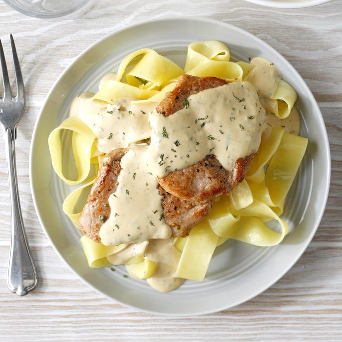 Day 2: Pork with Mustard Sauce