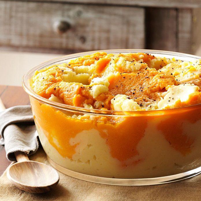 Potato Pumpkin Mash