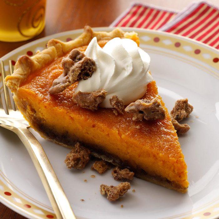 Praline Sweet Potato Pie