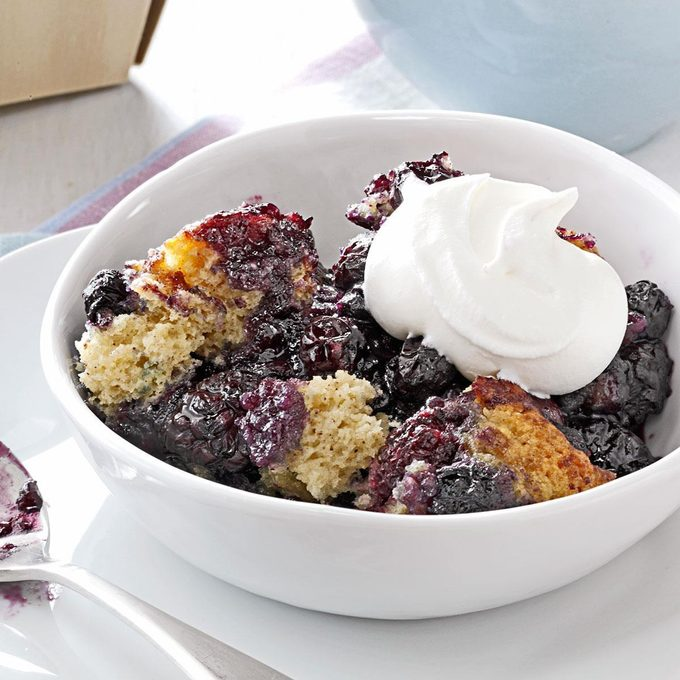 Instant Pot Black and Blue Cobbler