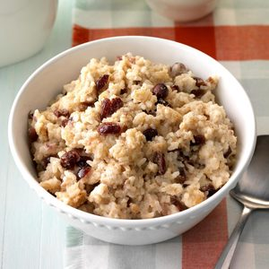 Pressure-Cooker Cherry & Spice Rice Pudding