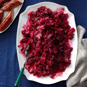 Pressure-Cooker Cranberry Apple Red Cabbage