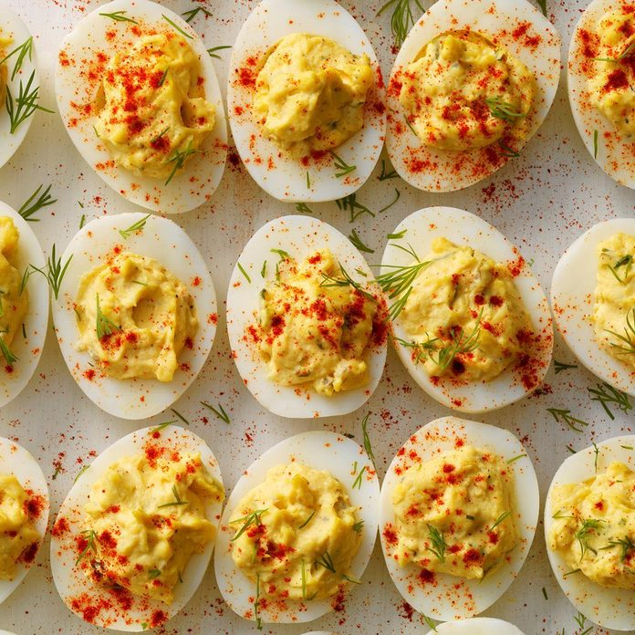 Pressure Cooker Garlic Dill Deviled Eggs Exps Thso18 206283 D04 24 4b 3