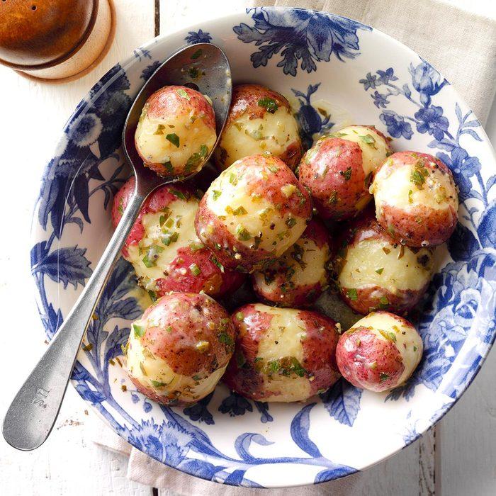 Pressure-Cooker Lemon Red Potatoes