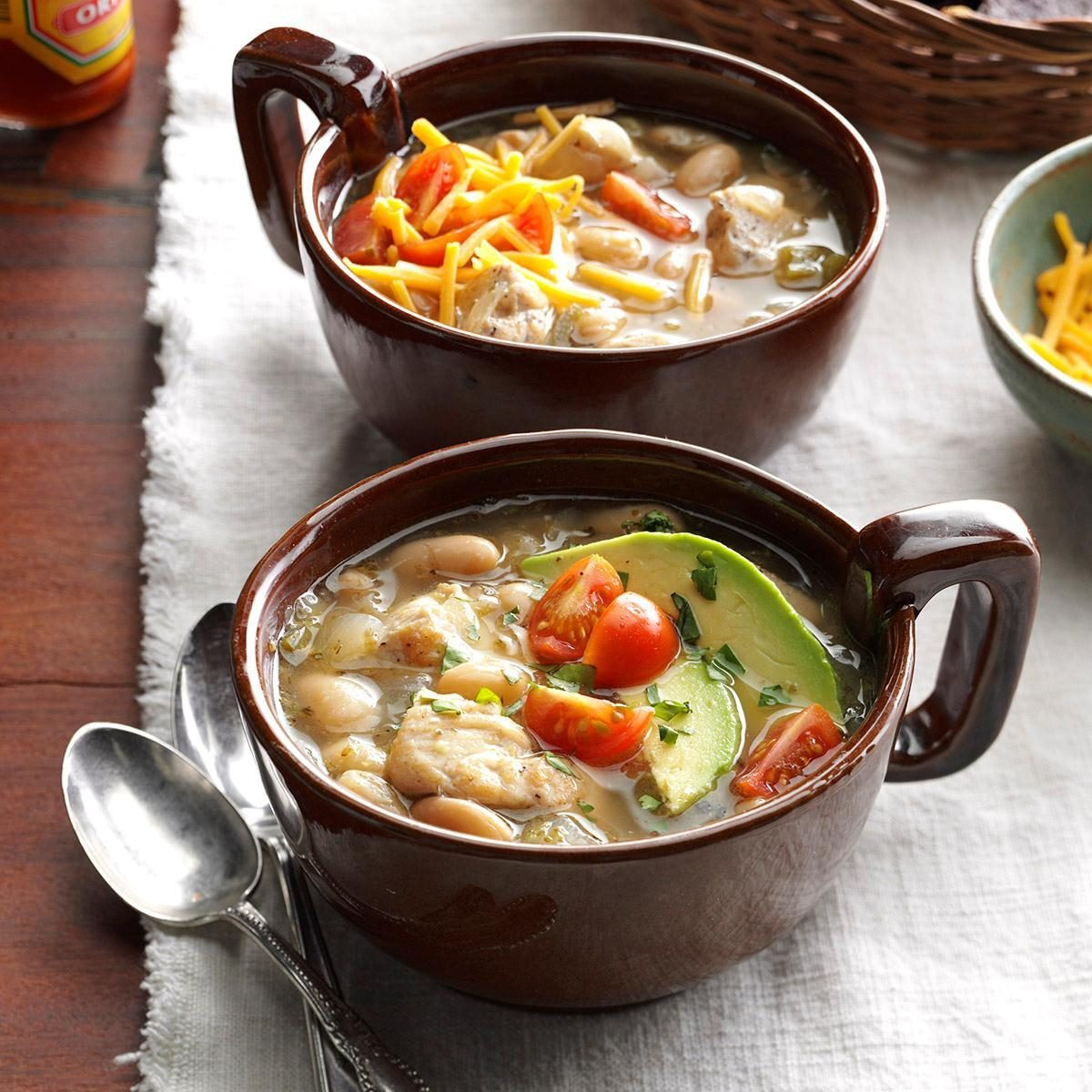 Pressure-Cooker White Bean Chicken Chili