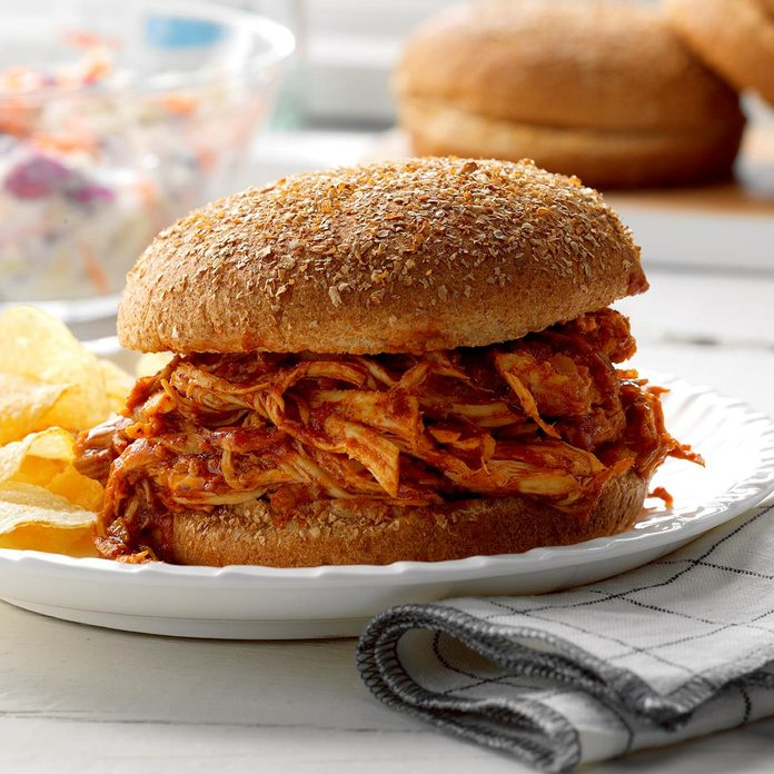 Inspired by: Pulled BBQ Chicken Sandwich