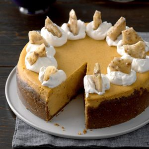 Pumpkin Cheesecake Deluxe