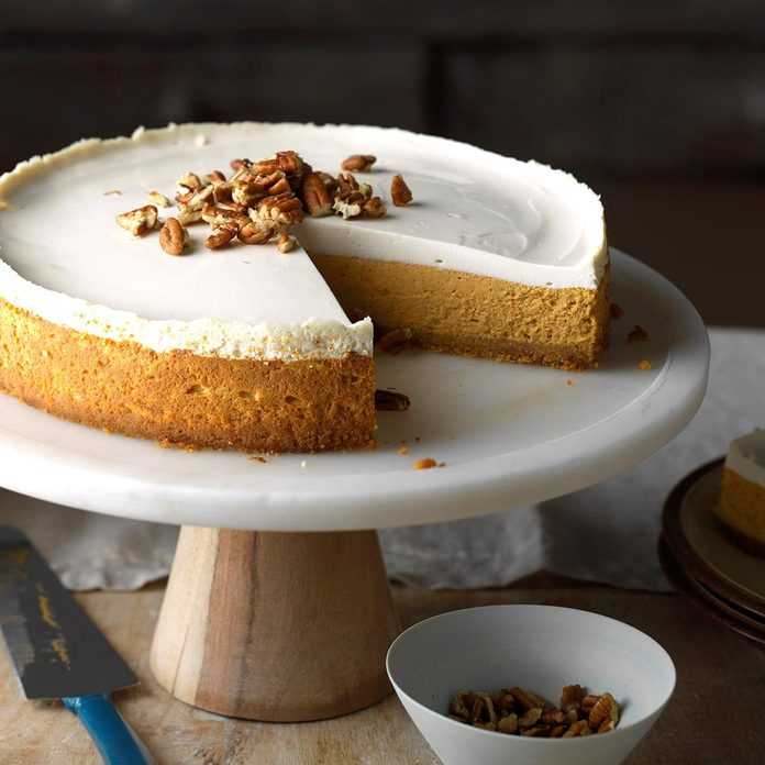 Inspired by: The Cheesecake Factory's Pumpkin Cheesecake