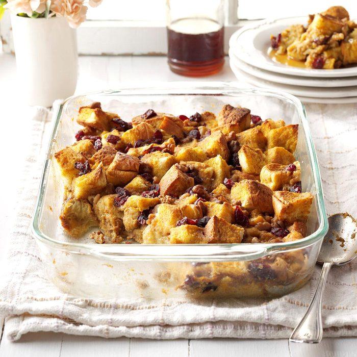 Pumpkin-Cranberry Breakfast Bake