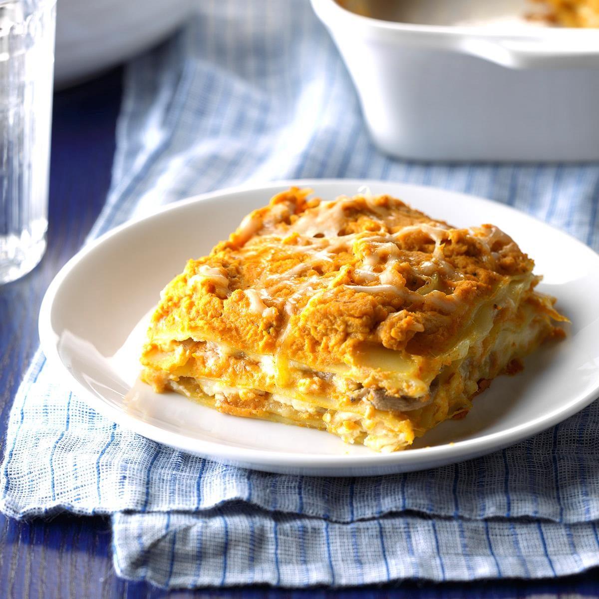 Sunday: Pumpkin Lasagna