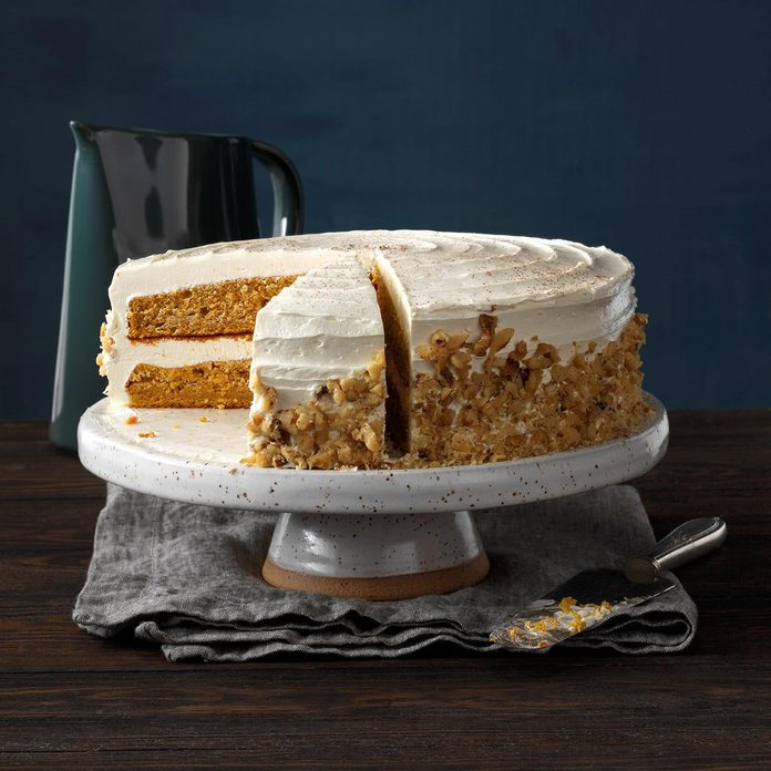New Hampshire: Pumpkin Pie Cake