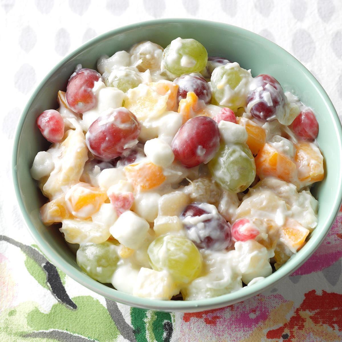 Idaho: Quick Ambrosia Fruit Salad