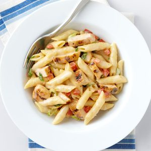 Quick Cajun Chicken Penne
