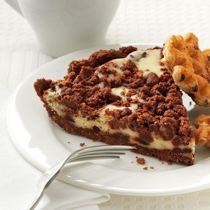 Quick Chocolate Chip Cheesecake