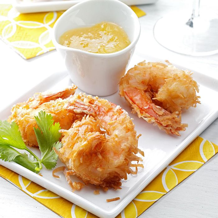 Quick Coconut Shrimp