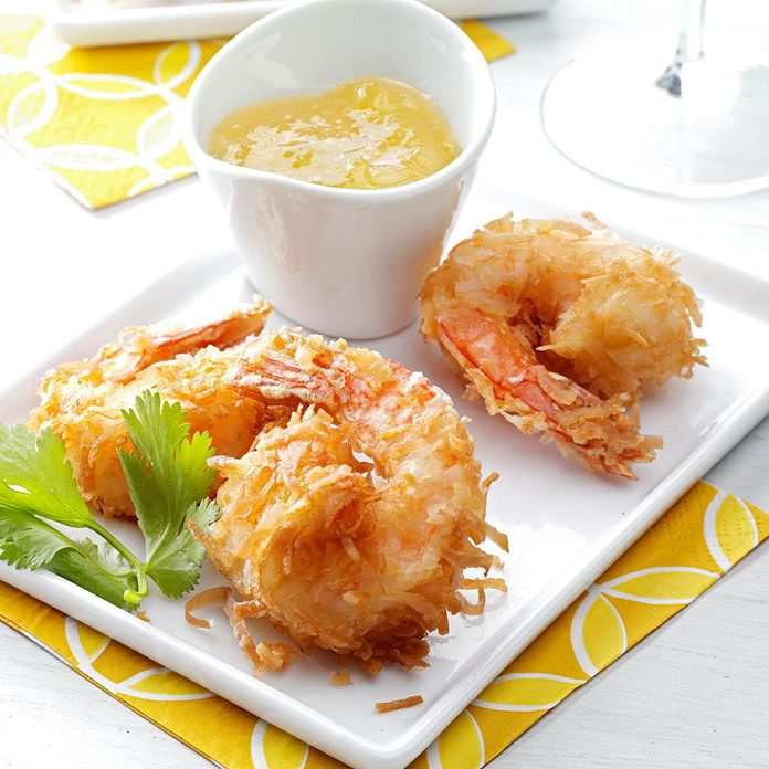 Inspired by Gold Coast Coconut Shrimp