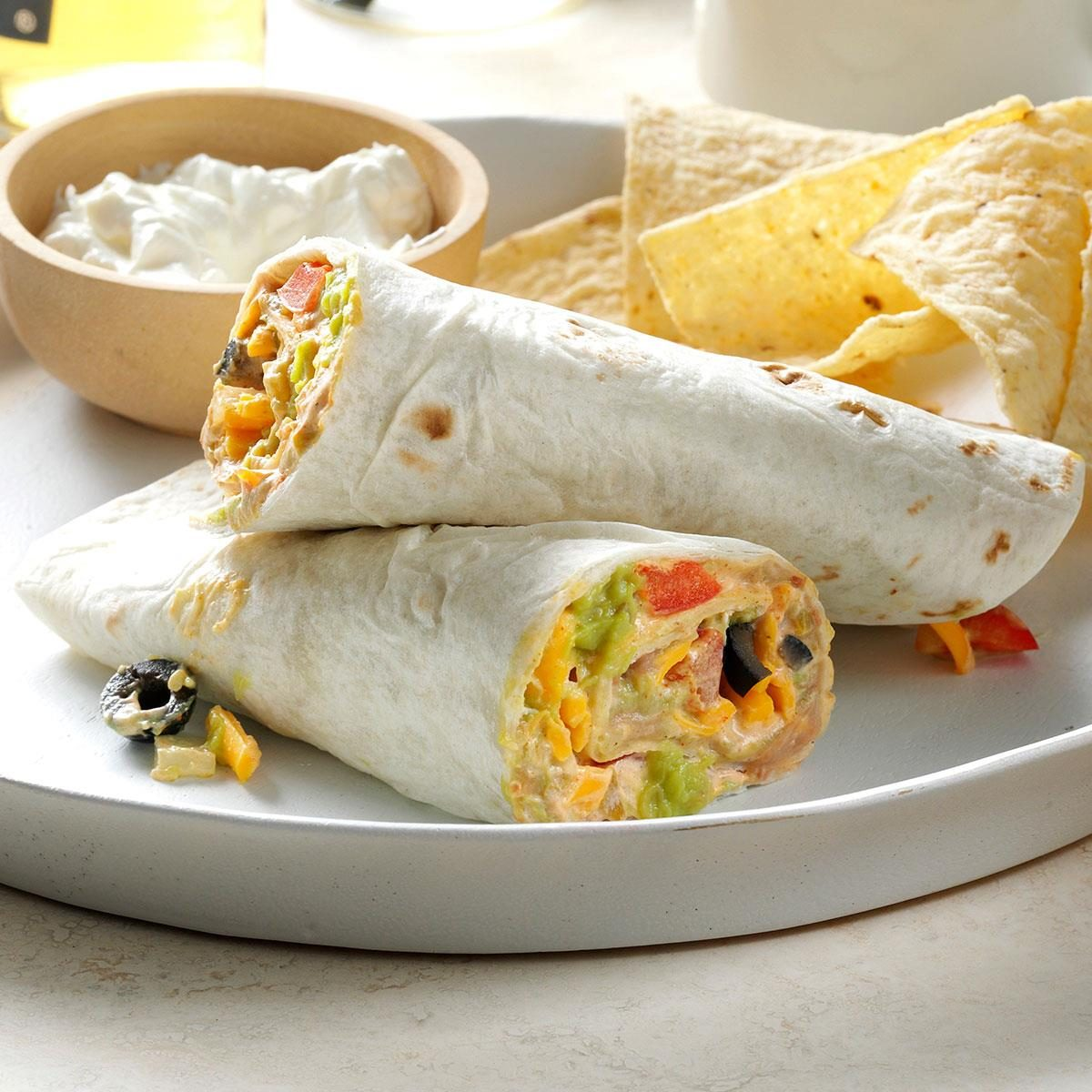 Middle School Age: Quick Taco Wraps